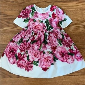 Girl floral dress size 3-4 yrs
